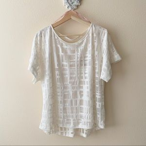 Forever 21 white blouse